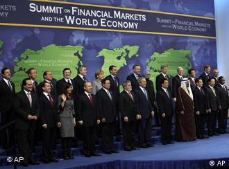 World leaders pose for the group photo on Saturday
