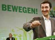 German Greens leader Cem Oezdemir