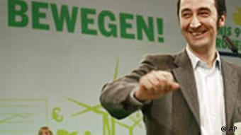 German Greens leader Cem Oezdemir