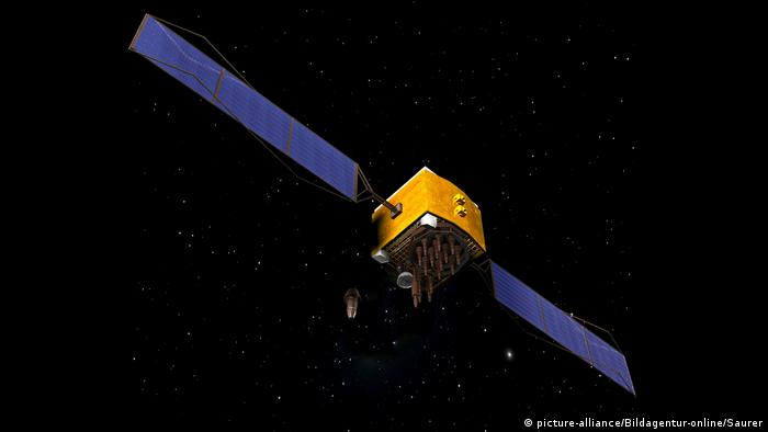GPS Satellit (picture-alliance/Bildagentur-online/Saurer)