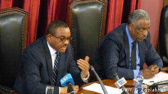 Äthiopien | Parlament (DW/Y. G. Egziabher)