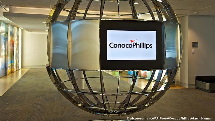 Logo ConocoPhillips (picture-alliance/AP Photo/ConocoPhillips/Garth Hannum)