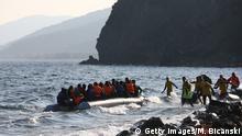Mittelmeer - Flüchtlinge - Boot