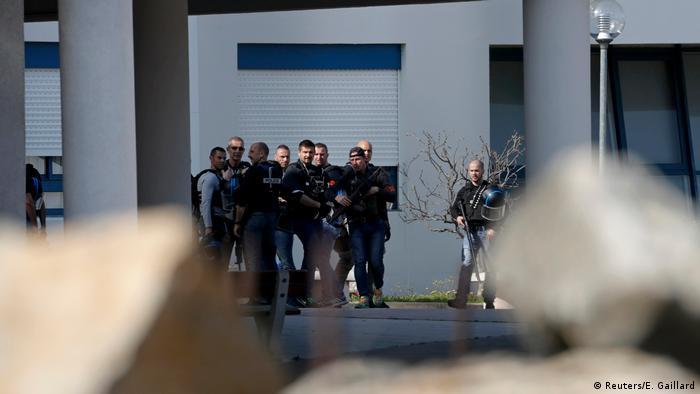 Frankreich Schießerei in Schule in Grasse