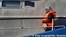 Mittelmeer - Flüchtlinge – Boot