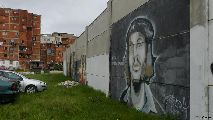 Portugal | Afrikaner in Lissabon | Wandmalereien