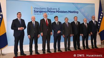 Από συνάντηση των ηγετών των χωρών των Δυτικών Βαλκανίων στο Σαράγεβο