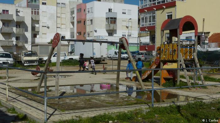 Portugal | Afrikaner in Lissabon | Spielplatz (J. Carlos)