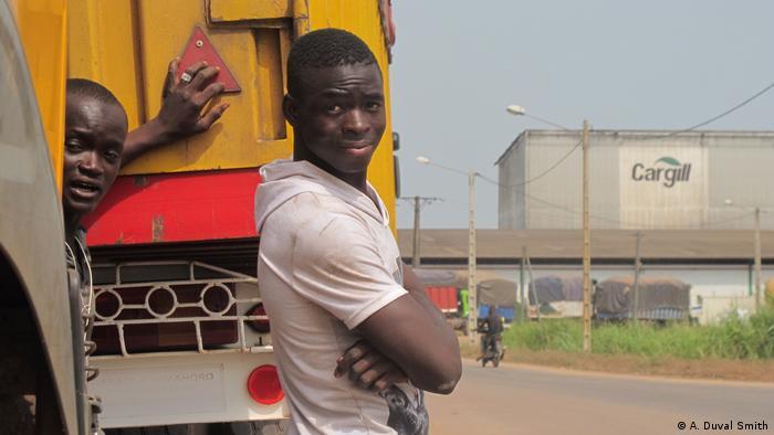 Ivory Coast truck drivers   K