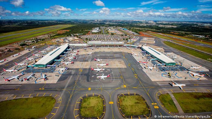 Flughafen in Brasilia, Brasilien (Inframerica/Bento Viana/divulgação)
