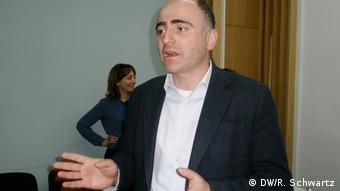 Giorgi Muckaidze (DW/R. Schwartz)