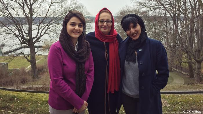 Literarisches Colloquium Berlin und Nahid Tabatabai, Sahar Marashi & Pajand Soleimani (DW/MMirza)