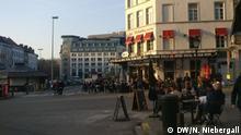 Brüssel Place Jourdan - Straßenszene