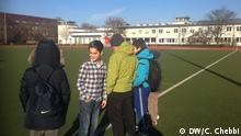 Deutschland - syrische Kinder besuchen Berliner Fussballverein