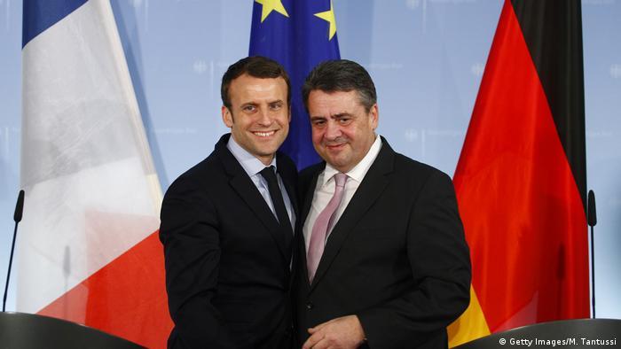 Macron y Gabriel