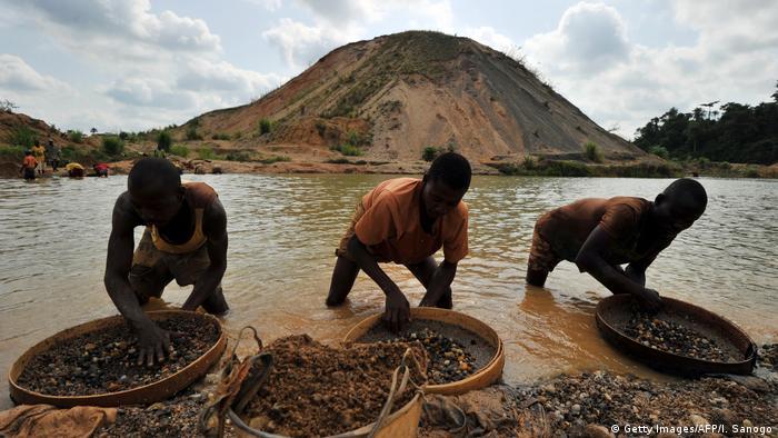 Sierra Leone Diamantensuche in Koidu