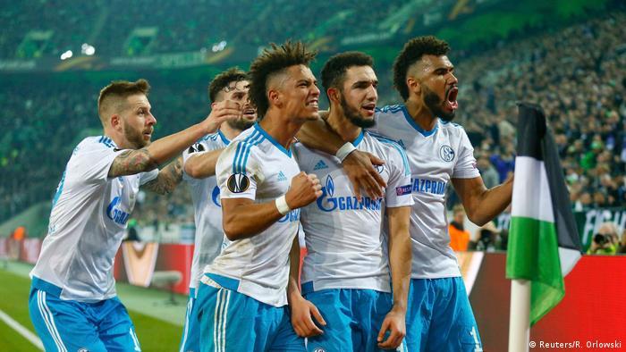 Europa League Last 16 Schalke Oust Luckless Monchengladbach On