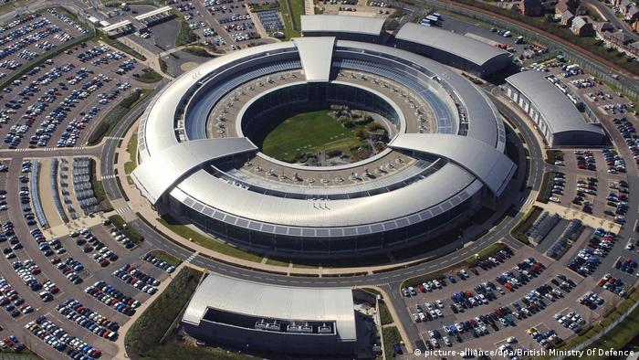 GCHQ in west central England