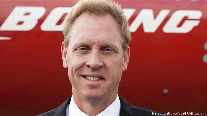 Frankreich Patrick Shanahan in Paris (picture-alliance/dpa/EPA/E. Laurent)