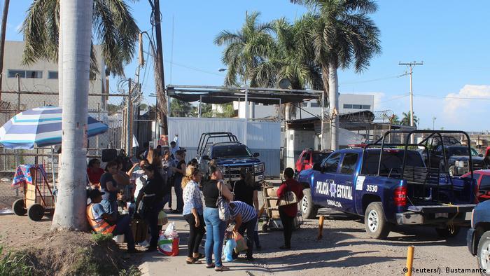 Mexiko Juan Jose Esparragoza Monzon aus Gefängnis entkommen in Culiacan (Reuters/J. Bustamante)