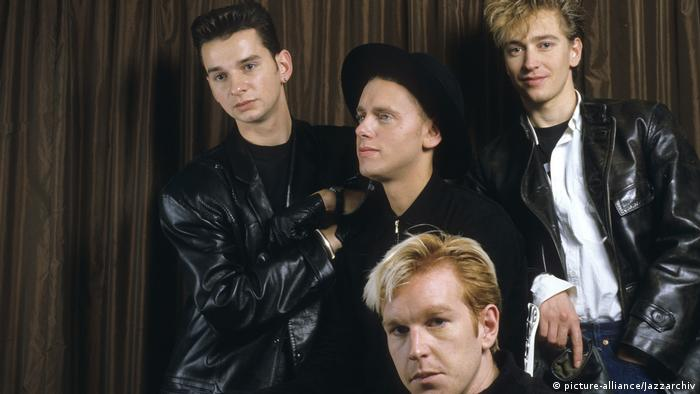 Depeche Mode in 1986 (picture-alliance/Jazzarchiv)
