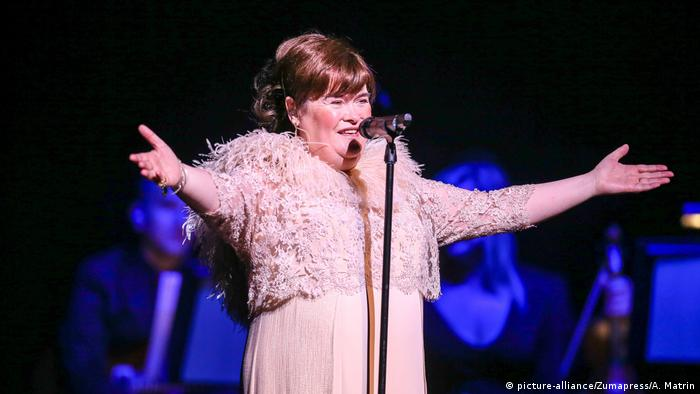 Susan Boyle US Sängerin (picture-alliance/Zumapress/A. Matrin)