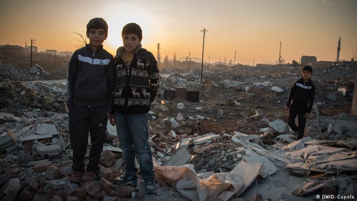 Syrian children near Ankara