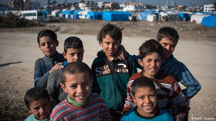 Syrian children in Turkey