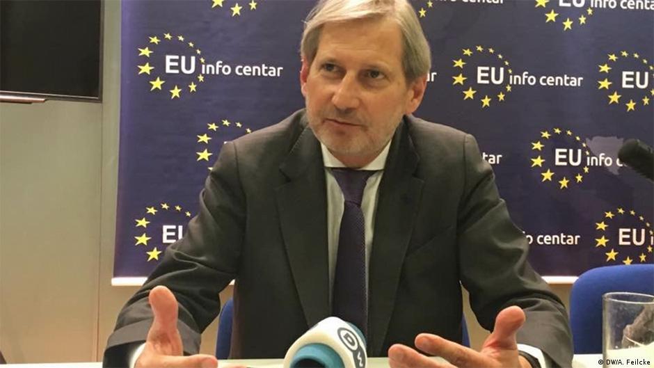 Hahn pret reforma nga qeveria e Shkupit