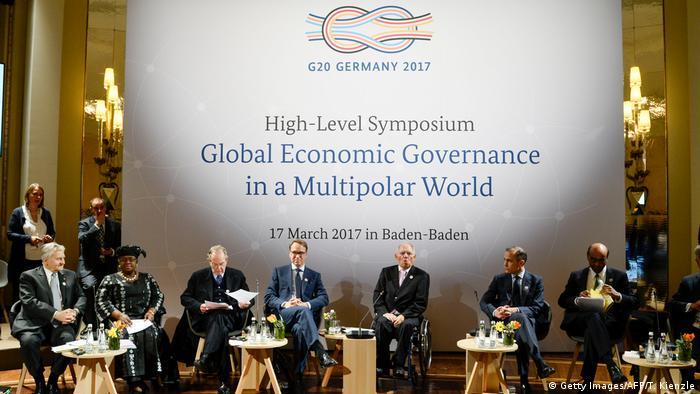 Deutschland G20 - Symbol - Baden Baden (Getty Images/AFP/T. Kienzle)