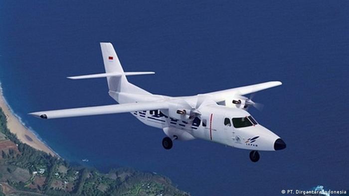 Flugzeug N219 des staatlichen Unternehmens PT. Dirgantara Indonesia (PT. Dirgantara Indonesia)