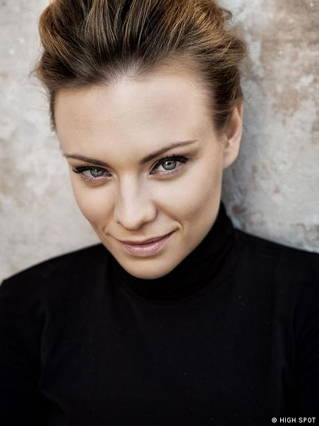 Magdalena Boczarska, who played the lead in the film the The Art of Love