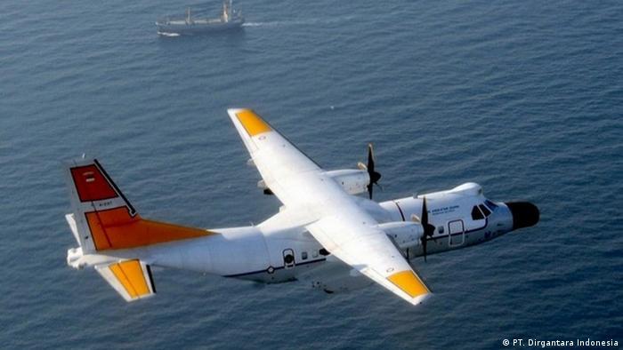 Flugzeug CN235-220 MPA des staatlichen Unternehmens PT. Dirgantara Indonesia (PT. Dirgantara Indonesia)