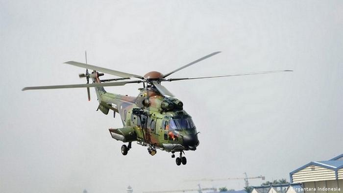 Heleikopter EC725 des staatlichen Unternehmens PT. Dirgantara Indonesia (PT. Dirgantara Indonesia)
