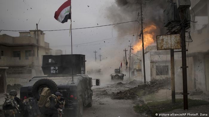Иракские военные штурмуют Мосул