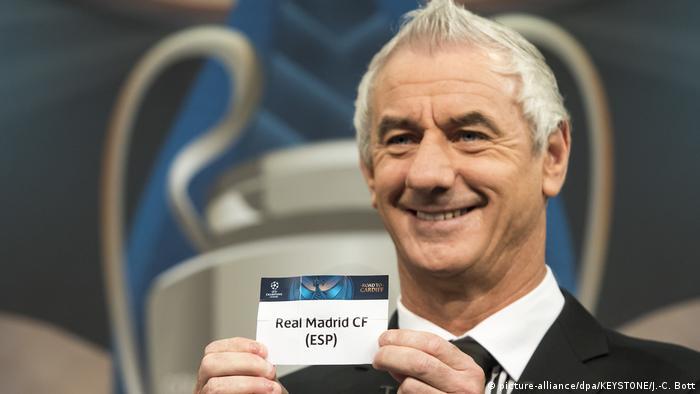 Schweiz | Auslosung Champions-League-Viertelfinale - Ian Rush