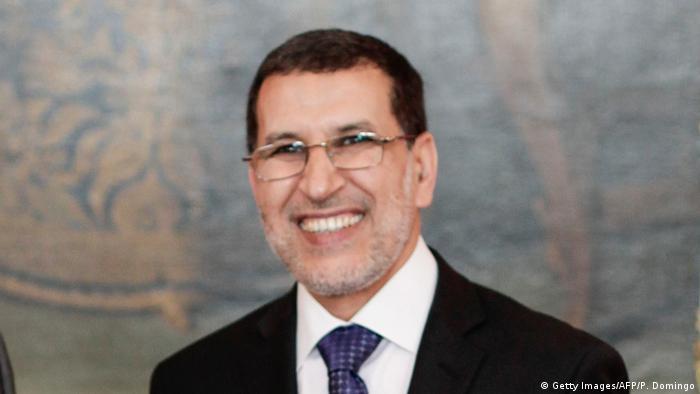 Marokko | Premierminister Saadeddine Othmani (Getty Images/AFP/P. Domingo)