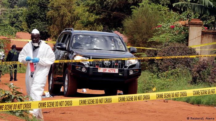 Uganda - Polizisten getötet