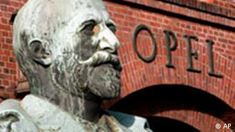 BdT Skulptur Adam Opel Opelwerk