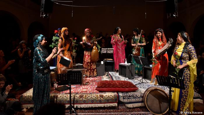 Female Voice of Iran Festival in Berlin (Neda Navaee)