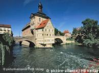 The German city of Bamberg