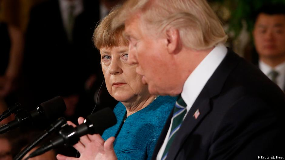 "US reporters praise German journalists for questioning Trump: In her report, Dunz later wrote, ""It is no longer a custom in the White House that hard, uncomfortable questions receive factual answers."""
