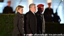 Verabschiedung von Bundespräsident Joachim Gauck