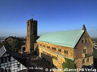 El castillo de Wartburg en Eisenach.
