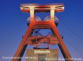 Zeche Zollverein coal and steel works; it has been turned into a museum
