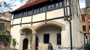 Deutschland Lutherhaus in Eisleben
