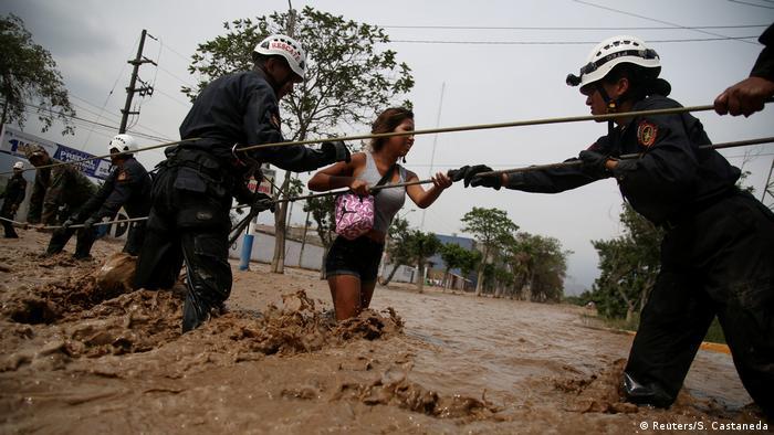 Peru - Überschwemmung