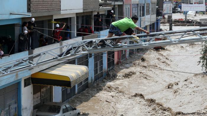 Peru - Überschwemmung (Reuters/G. Pardo)