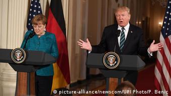 Καλές χαρακτήρισε τις συνομιλίες με τον Τραμπ η Αγκ. Μέρκελ