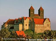 Замок в Кведлинбурге -часть мирового наследия